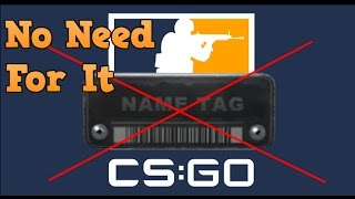 CS:GO How To Change Your Gun Name Without Name Tag