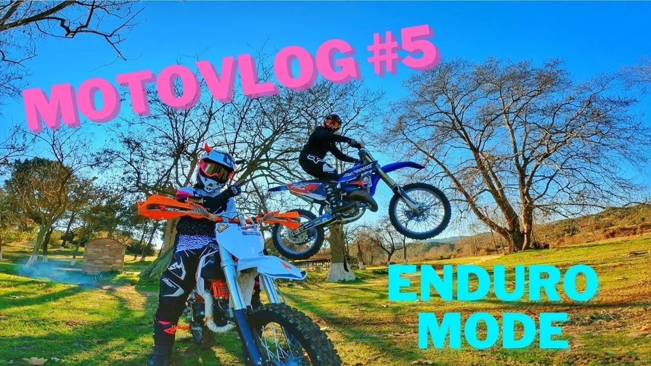 MOTOCOUPLE GOES FOR ENDURO | Motovlog No#5