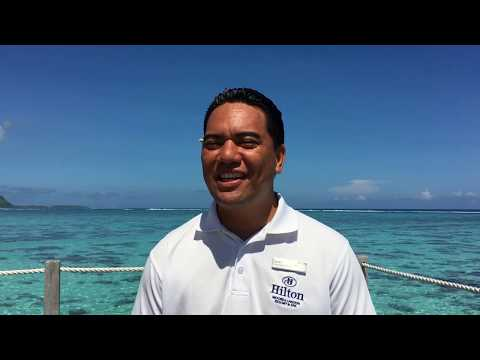 Meet Heinui - Pool and Beach Attendant at Hilton Moorea