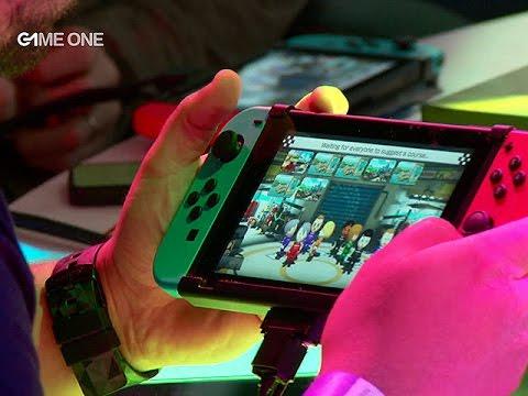#TEAMG1 - Avant-première de la Nintendo Switch au Grand Palais (1/2)