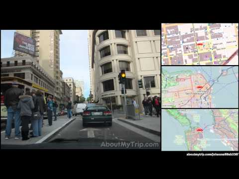 O'Farrell Street (San Francisco, Downtown, California) to Larkin Street (Financial District)