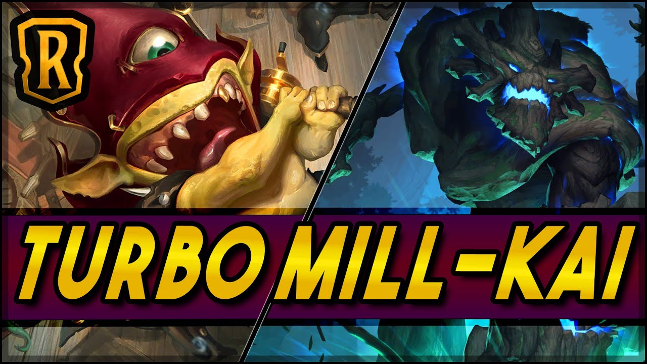 Turbo Mill-Kai | Season of Fortune | LoR Game | Legends of Runeterra