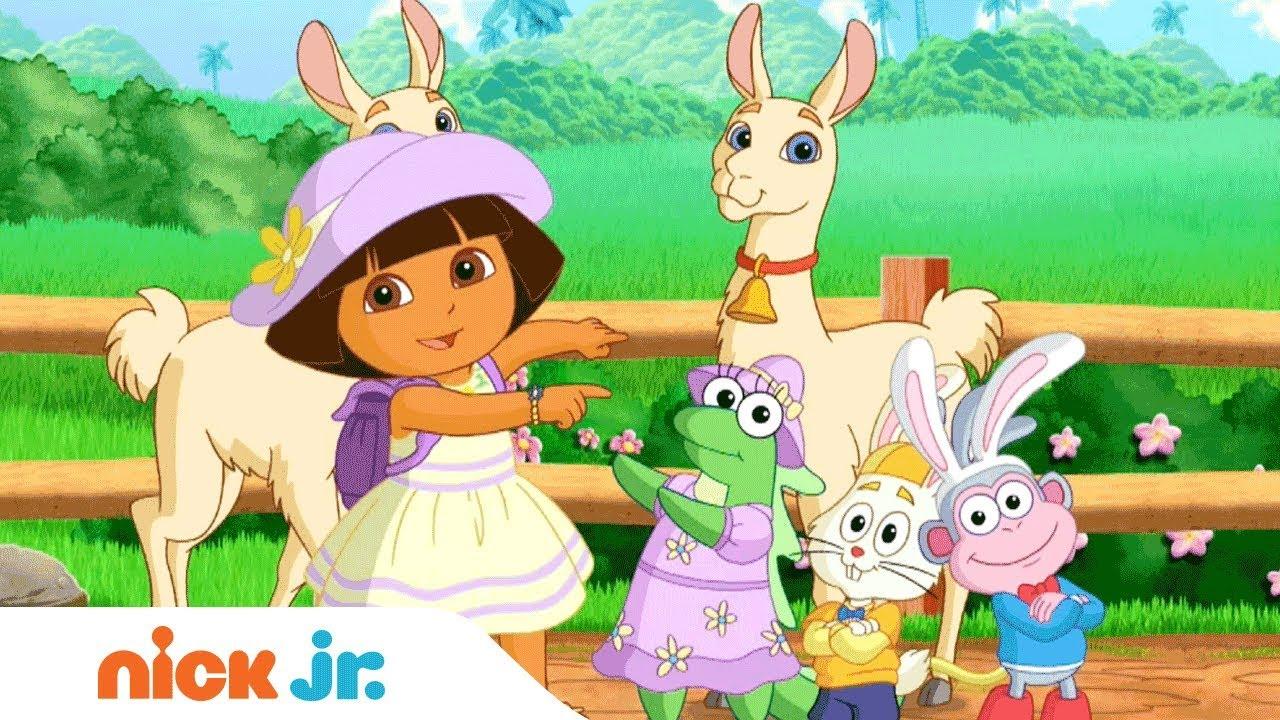 Diversión Con Los Animales Video Musical Con Dora La Exploradora Bubble Guppies Nick Jr Youtube