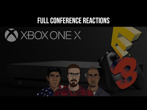 Microsoft Full Press Conference Live Reactions - E3 2017