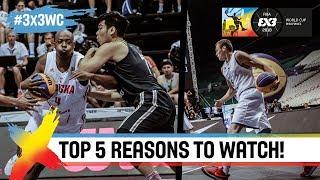top 5 reasons to watch fiba 3x3 world cup 2018