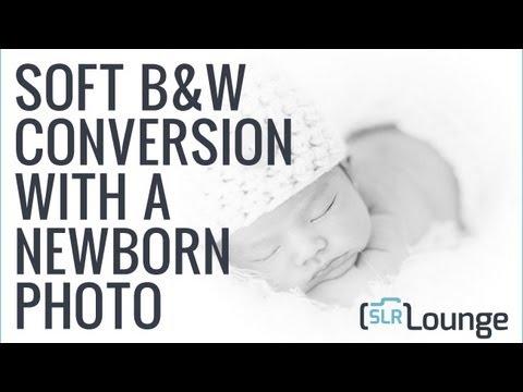 Newborn Photography Black and White Conversion - Ordinary to Extraordinary Lightroom Edit E04