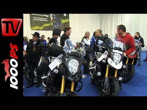 Suzuki V-Strom 1000 2014-Infos von der Motorrad Linz 2014
