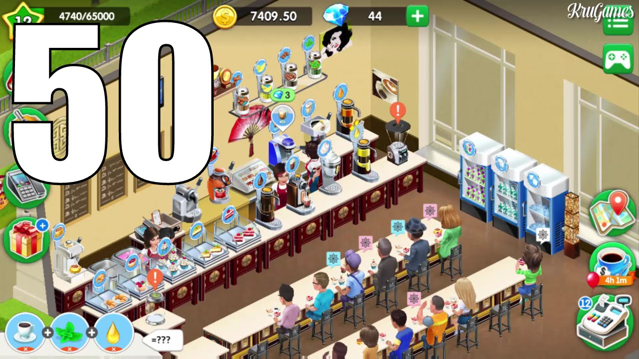 my cafe recipes stories android gameplay 50 level 12 youtube. Black Bedroom Furniture Sets. Home Design Ideas