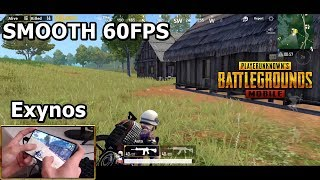 PUBG Mobile Galaxy S10+ Game Test 60 FPS
