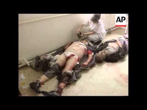 Bosnia-37 dead,80 injured in bloody market carnage