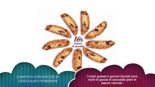 Produttore italiano cantucci al cioccolato per Grande Distribuzione estero