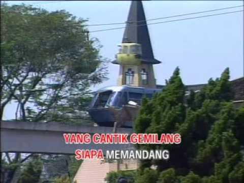 A RAMLIE DAN MARIA BACHOK - BUNGA KEMBANG (KARAOKE)