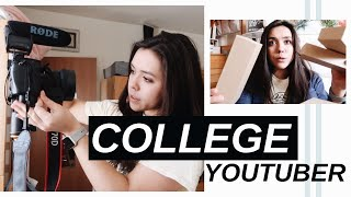 COLLEGE YOUTUBER Day In The Life
