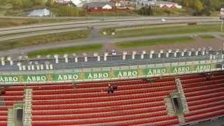 Flying GoPro: Guldfågeln Arena i Kalmar. DJI Phantom 2