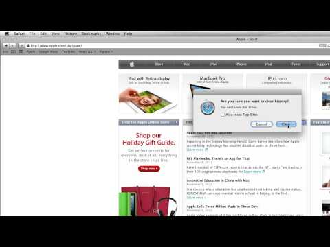 How to Delete History on Mac - YouTube