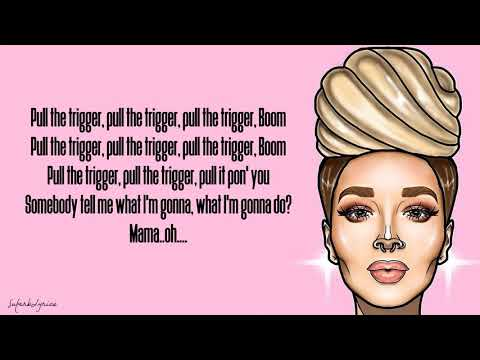 Zhavia - Man Down (Lyrics)(The Four)