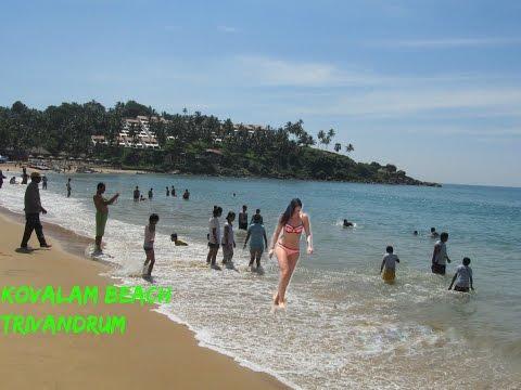 Kovalam Beach Kerala Travel Vlog