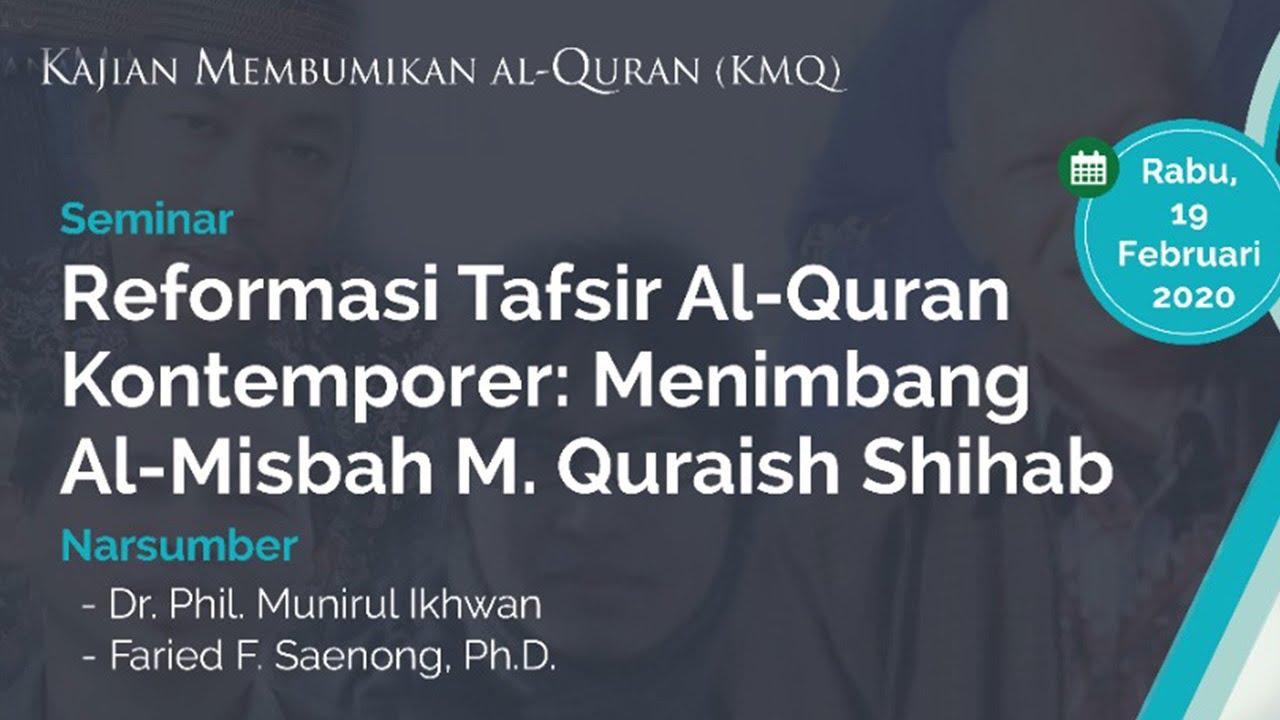 Download Reformasi Tafsir Al-Quran Kontemporer: Menimbang Al-Misbah M. Quraish Shihab