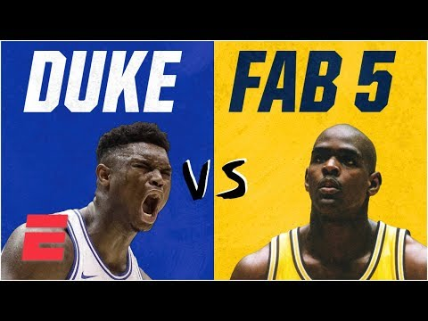Duke freshmen vs. Fab Five: How Zion Williamson's squad compares on & off court | College Basketball