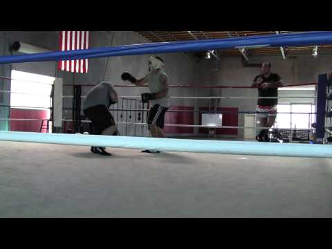 Sparring at The Compound MMA & Fitness (amature bo...