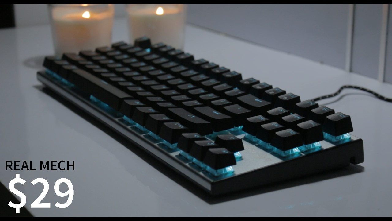 Real Mechanical Keyboard For 29 Imperion Mech 7 Youtube