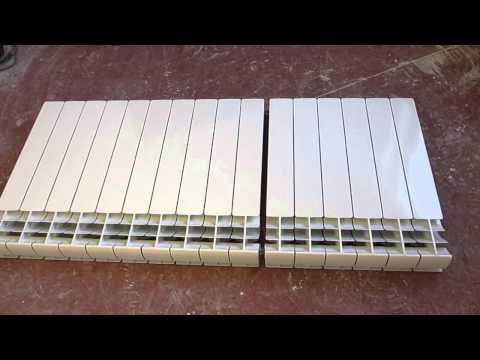 Наращиваем секции радиатора автономного отопления