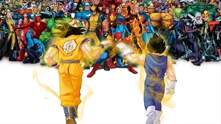 Goku vs Marvel Universe ( False Arguments )