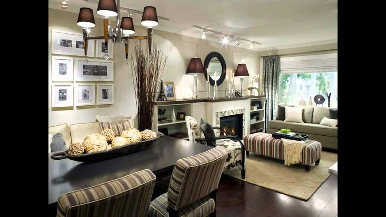 LIVING AND DINING ROOM IDEAS - YouTube