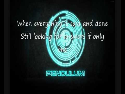 Pendulum - The Island [Lyrics] [HD]
