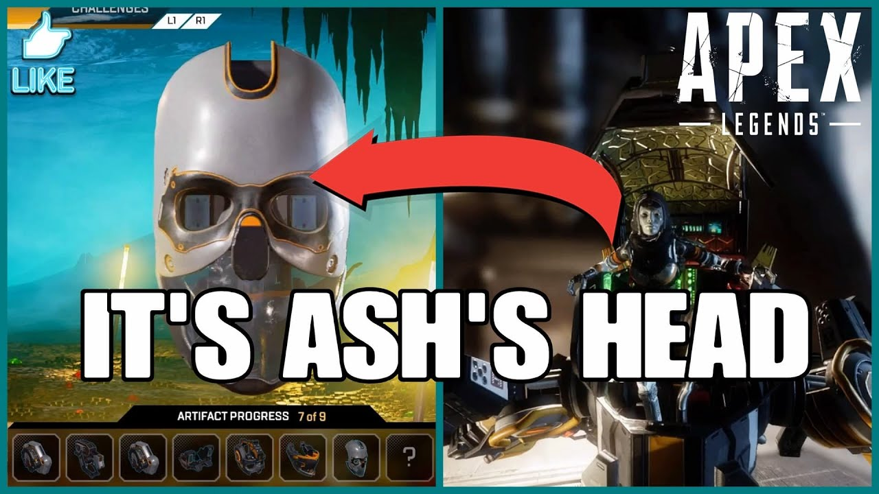 ASH'S HEAD IS THE ARTIFACT!? WINSON DYNAMICS COMING TO APEX - Apex Legends The Broken Ghost Story