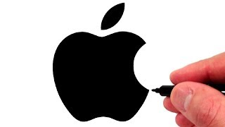How to Draw the 1998 Apple Logo