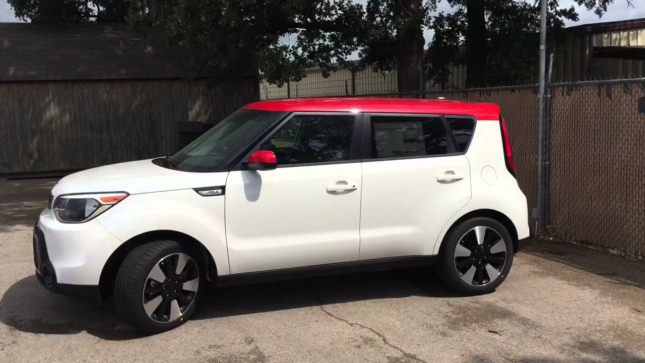 kia soul with red roof at van griffith kia youtube. Black Bedroom Furniture Sets. Home Design Ideas