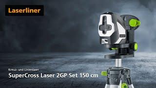 Kreuzlinien-Laser - Unboxing - SuperCross-Laser 2GP Set 150 cm - 081.192A