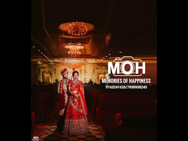 RIYA & ANISH (wedding teaser ) Royal banquet Patna ( MOH - memories of happiness )