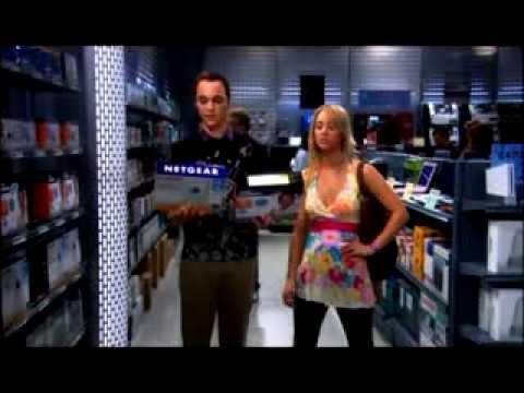 The Big Bang Theory - Sheldon Shopping in the Electronics Department
