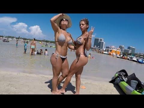 Miami Beach Sandbar  (tbt)