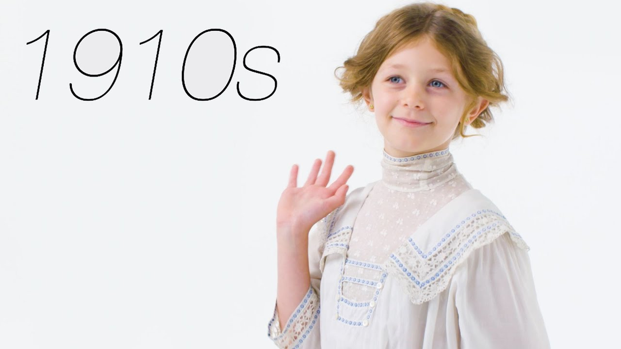 100 Years Of Girls Clothing Glamour Youtube