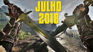 TOP 10 NOVOS JOGOS DE JULHO 2018 PRA PC, PS4, XONE, Switch e 3DS