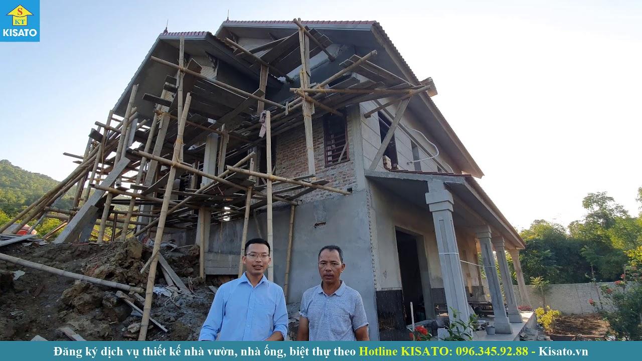 KISATO Thăm Lại Mẫu Nhà Cấp 4 Có Tầng Hầm Của Gia Đình Chú Mỳ Tại Yên Định Thanh Hóa