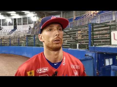 Federico Celli dopo la sconfitta nella seconda gara della serie