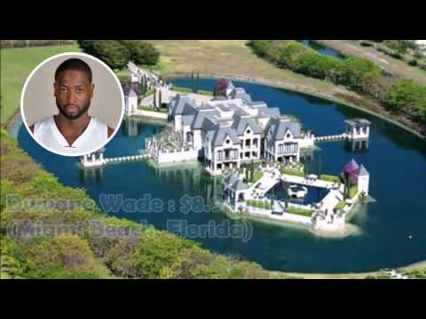 Who Owns The Most Expensive Car In The World >> Luxury!Top 10 Most Expensive Mansion House of NBA Players - YouTube