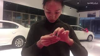 Natural long nails(21) Origami (See you next time 珍重再见,后会有期)