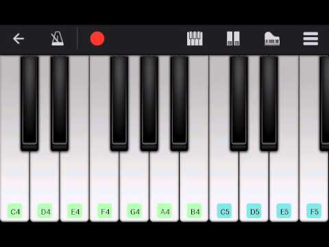 Linking Park-Numb(Perfect piano-Android)