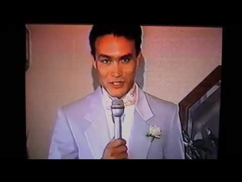 Brandon Lee  at Tom Bleecher and Linda Lee's wedding