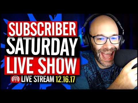 Subscriber Saturday Live Featuring Dana Garrison