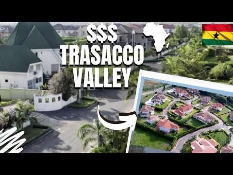 The Real Trasacco Valley Estates | Rich Neighborhoods In Accra - Ghana Africa| quartier résidentiel