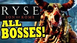RYSE Son of Rome: ALL BOSSES + Boss Fights Final Boss [HD] XBOX ONE