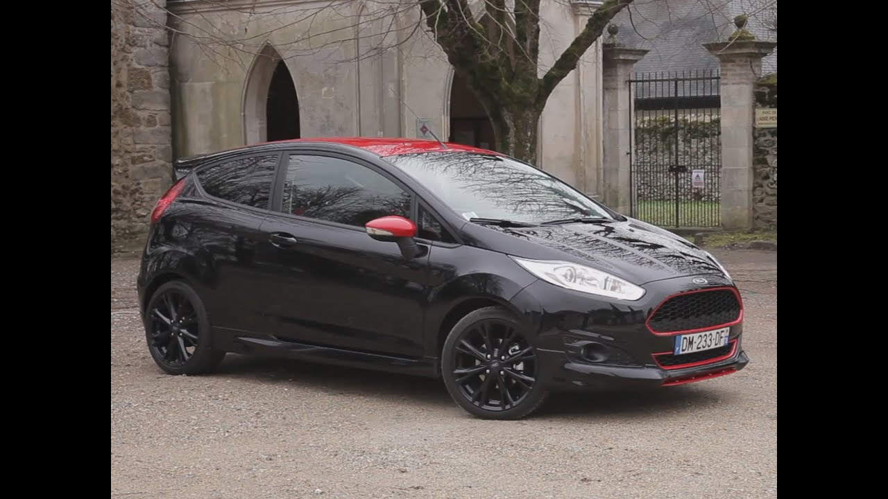 essai ford fiesta 1 0 ecoboost 140 black edition 2015 youtube. Black Bedroom Furniture Sets. Home Design Ideas