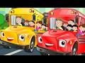 Wheels On The Bus Go Round And Round | Nursery Rhymes | Kids Songs | Children Video | Baby Rhymes video