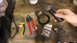 HOW TO CHANGE A BICYCLE GEAR CABLE (STURMEY ARCHER SYSTEM)
